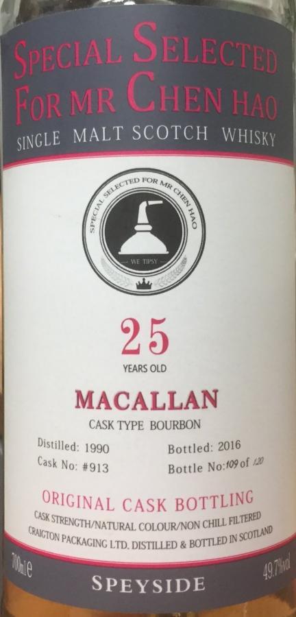 Macallan 1990 CPL