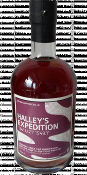 "Scotch Universe Halley's Expedition 124° U.7.1' 1949.1"""