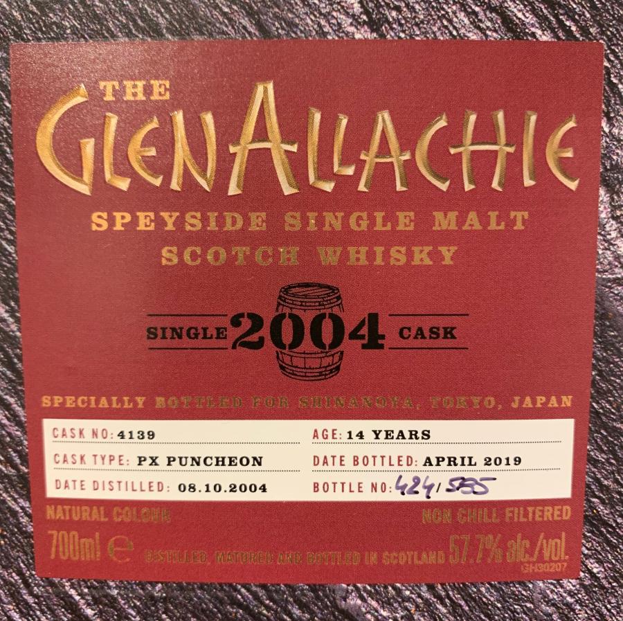 Glenallachie 2004