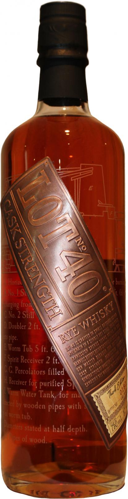 Lot No. 40 Cask Strength