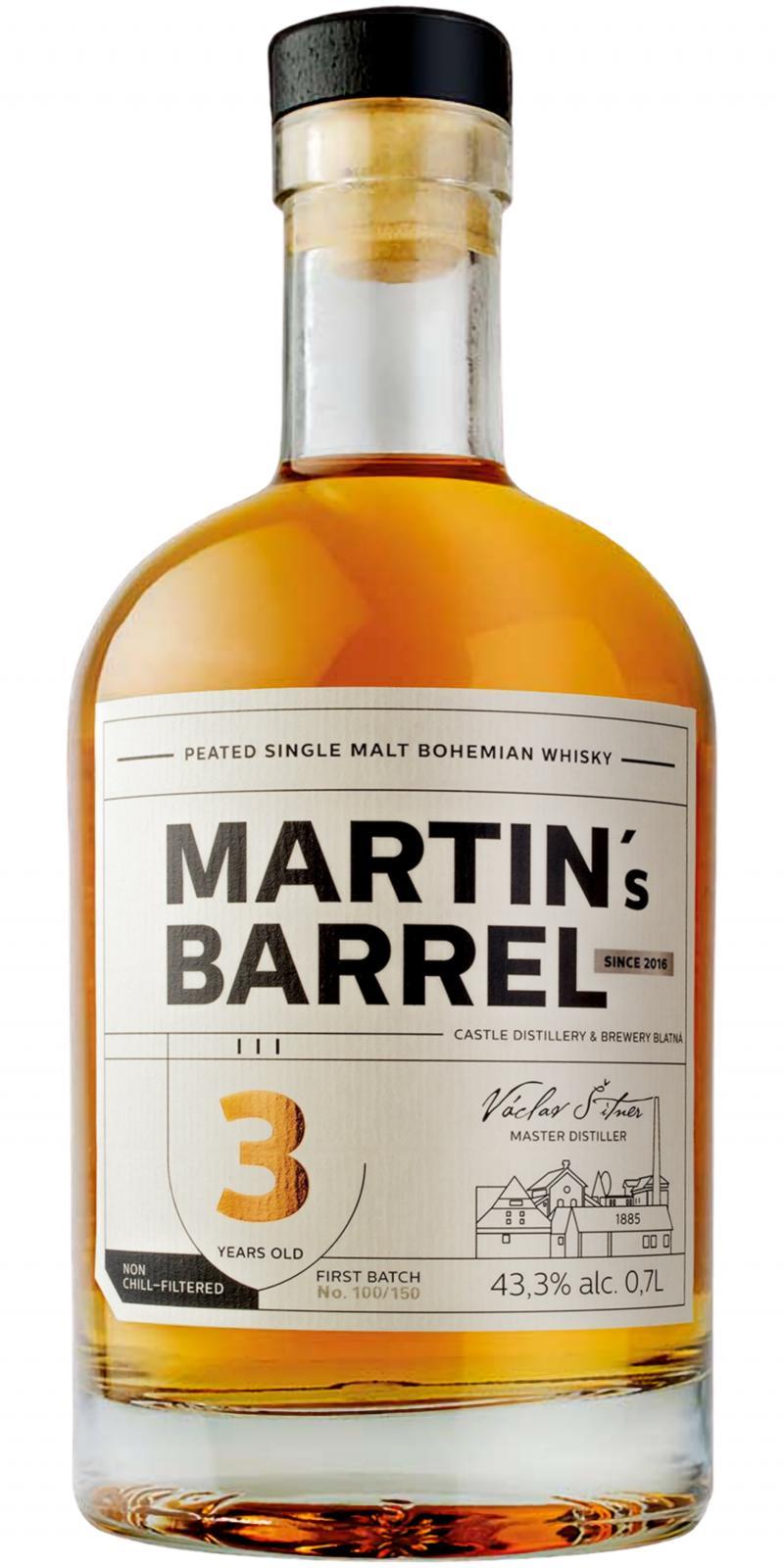 Martin's Barrel 03-year-old