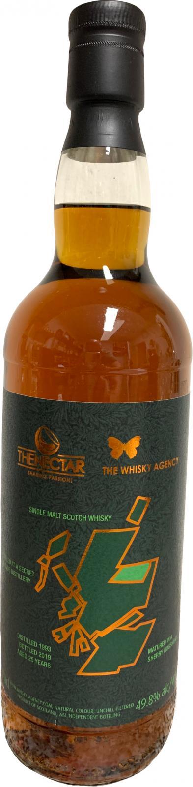 Secret Speyside Distillery 1993 TWA
