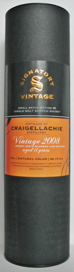 Craigellachie 2008 SV