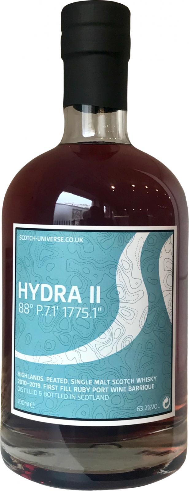 """Scotch Universe Hydra II - 88° P.7.1' 1775.1"""""""