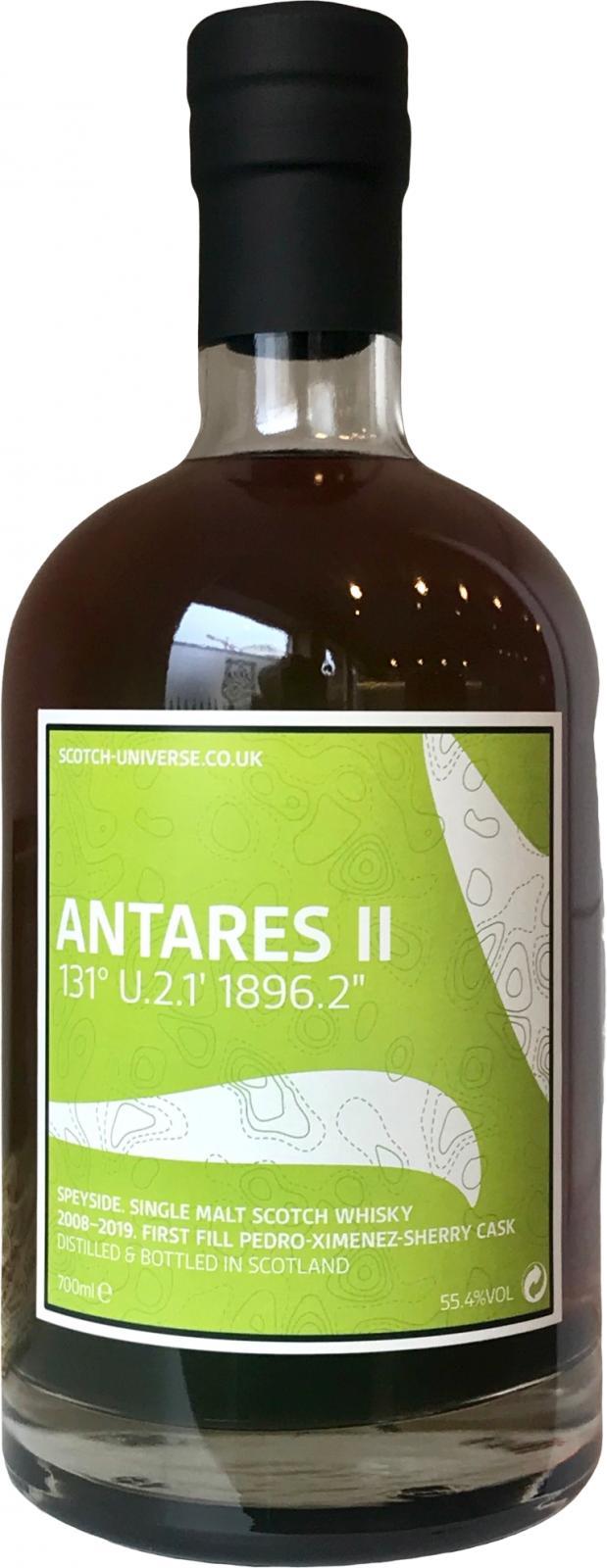 """Scotch Universe Antares II - 131° U.2.1' 1896.2"""""""