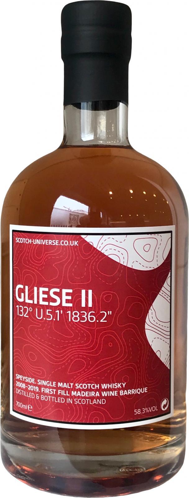 """Scotch Universe Gliese II - 132° U.5.1' 1836.2"""""""