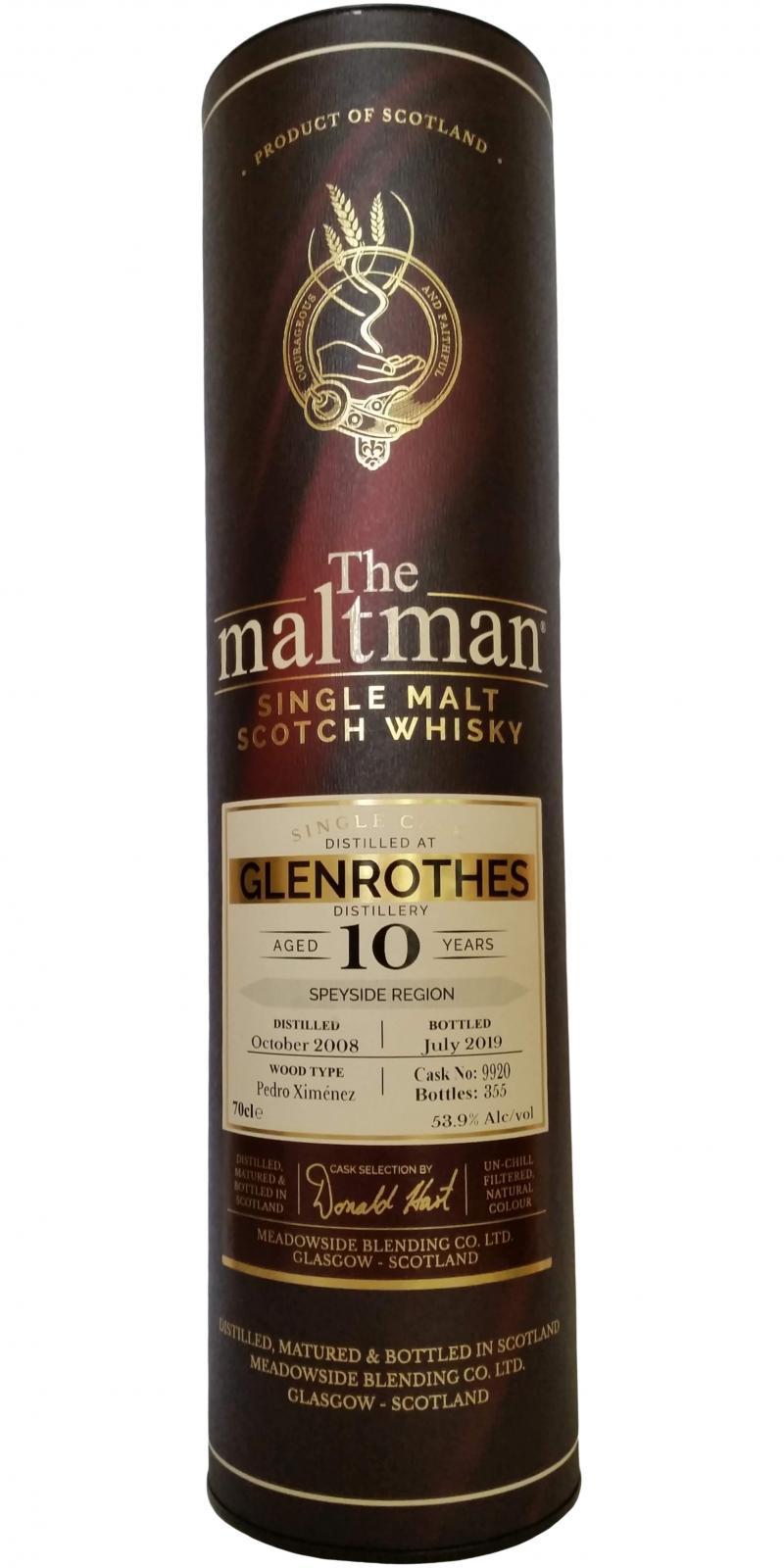 Glenrothes 2008 MBl
