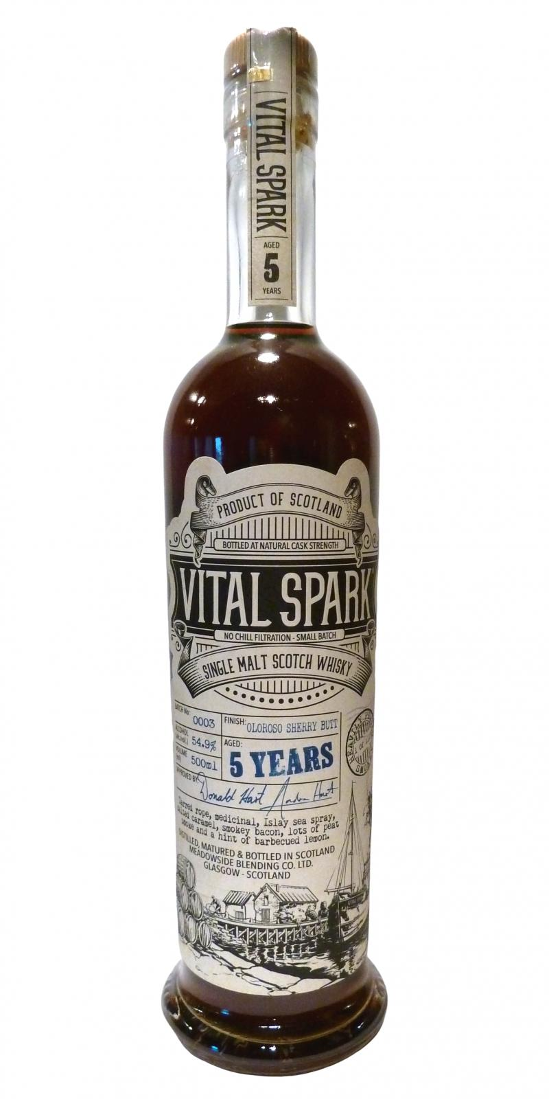 Vital Spark 05-year-old MBl