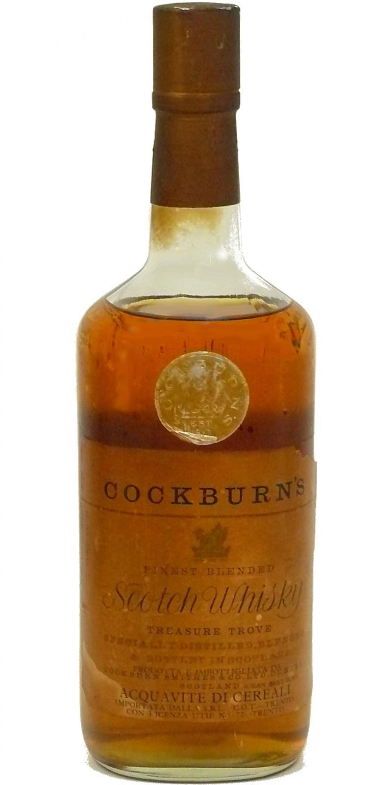Cockburn's Finest Blended Scotch Whisky