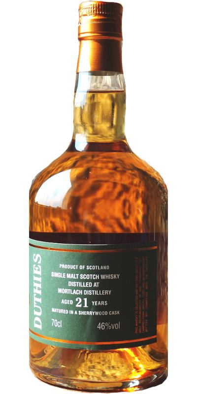 Mortlach 21-year-old CA