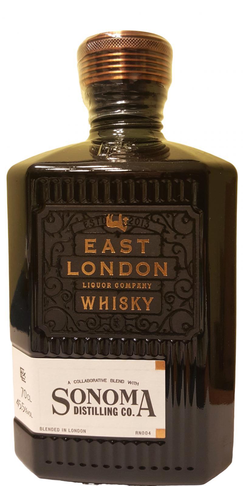 East London ELLC & Sonoma Whisky