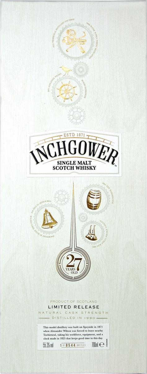 Inchgower 1990