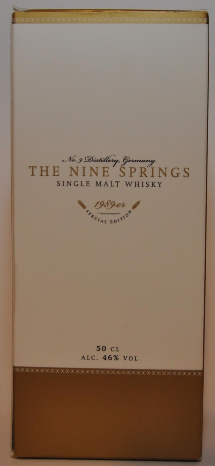 The Nine Springs 1989er Special Edition