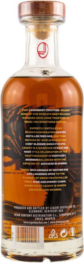 Legent Kentucky Straight Bourbon Whiskey