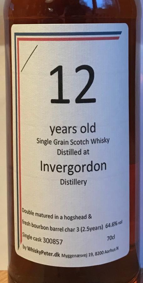 Invergordon 12-year-old WhB