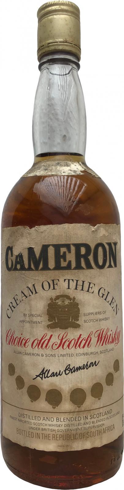 Cameron Cream of the Glen