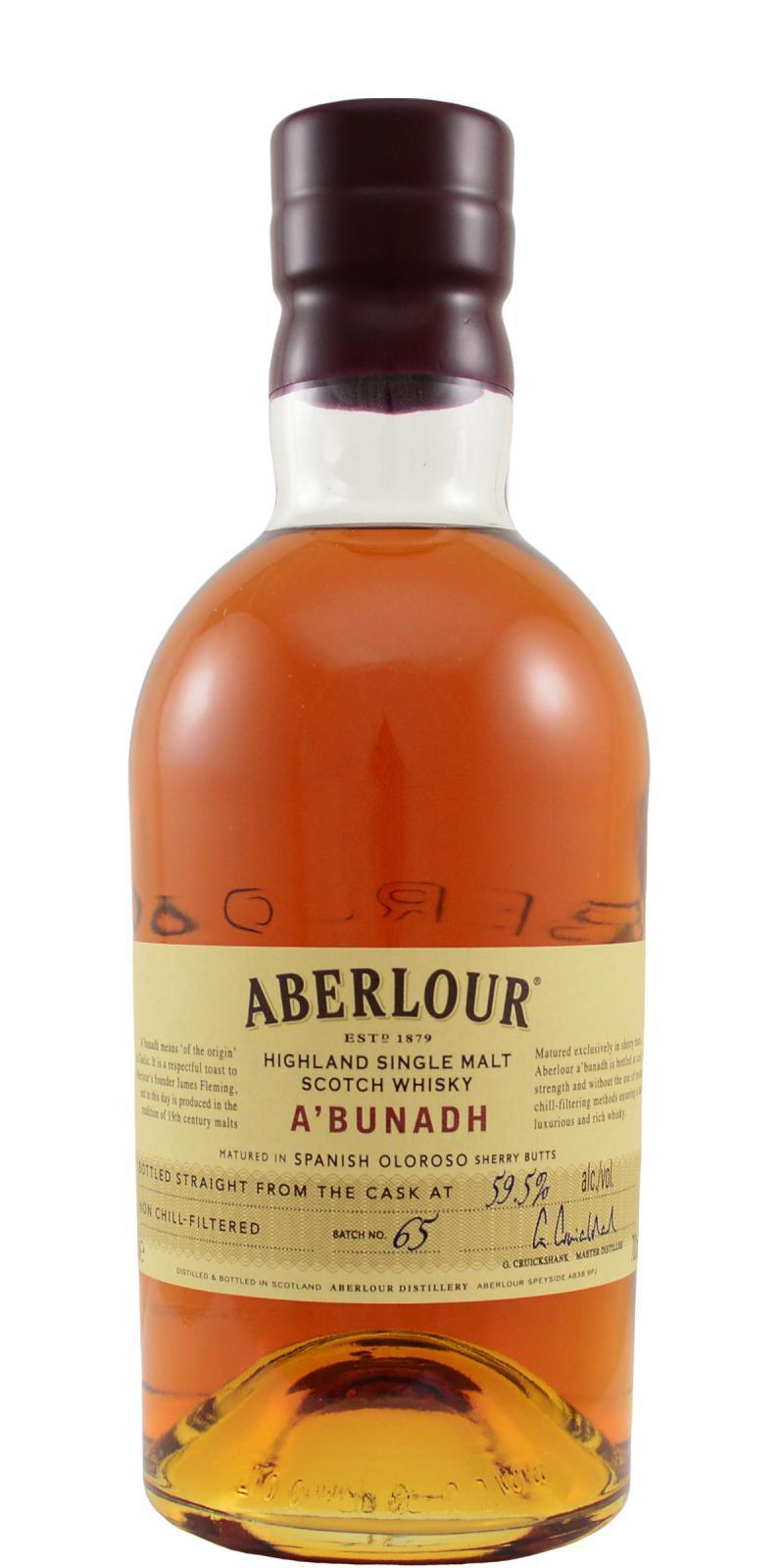 Aberlour A'bunadh batch #65