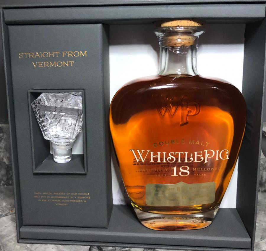 WhistlePig 18-year-old