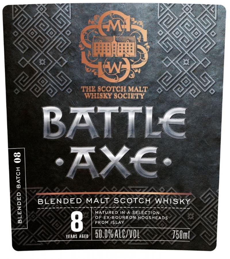 Blended Malt Scotch Whisky Battle Axe SMWS