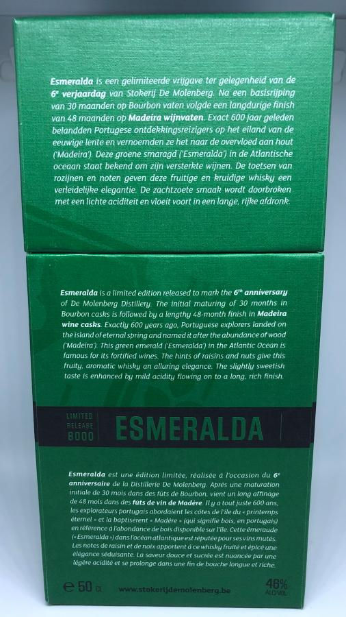 Stokerij de Molenberg Esmeralda