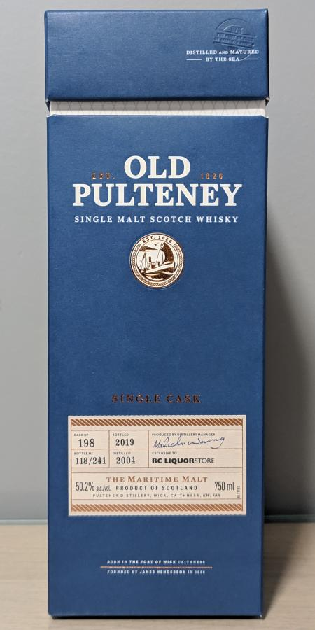 Old Pulteney 2004