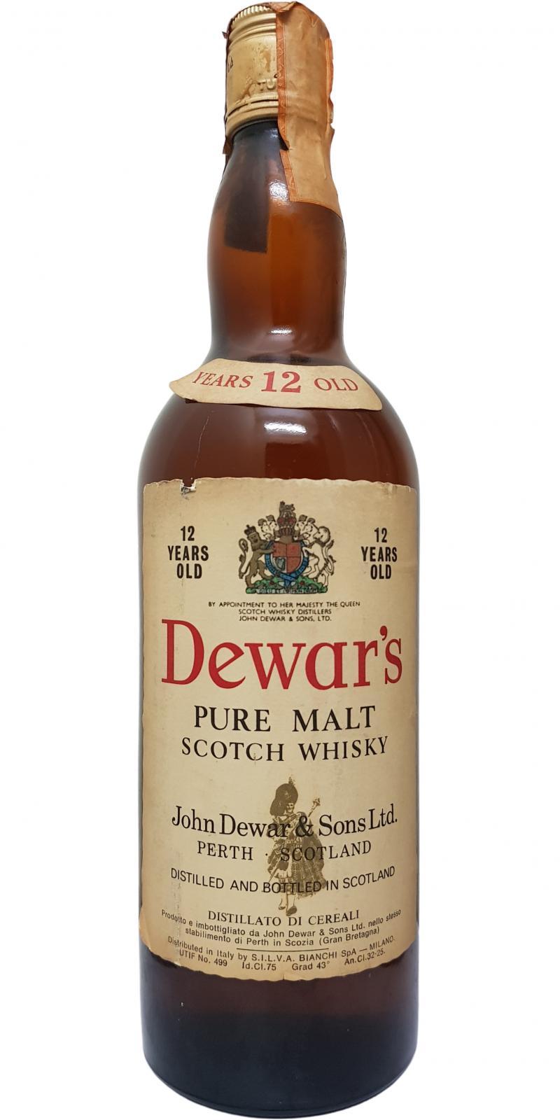 Dewar's 12-year-old