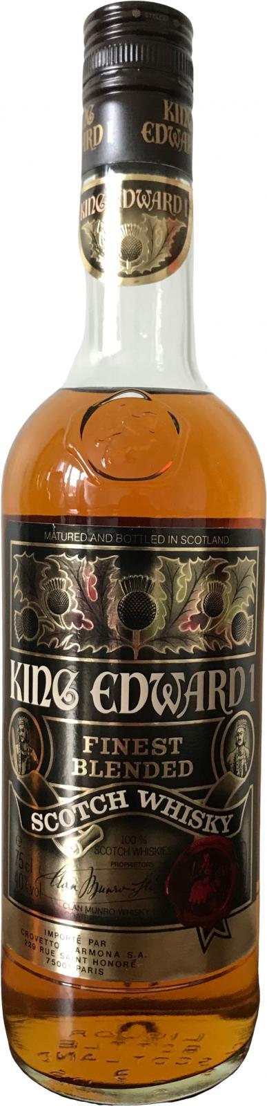 King Edward I Finest Blended Scotch Whisky