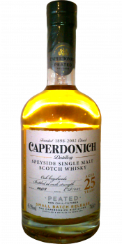 Caperdonich 25-year-old - Peated
