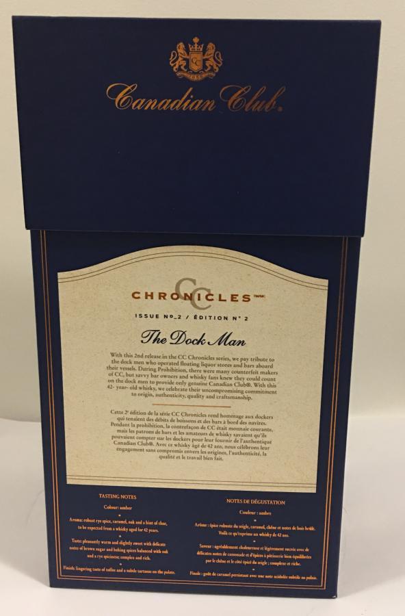 Canadian Club Chronicles – The Dock Man