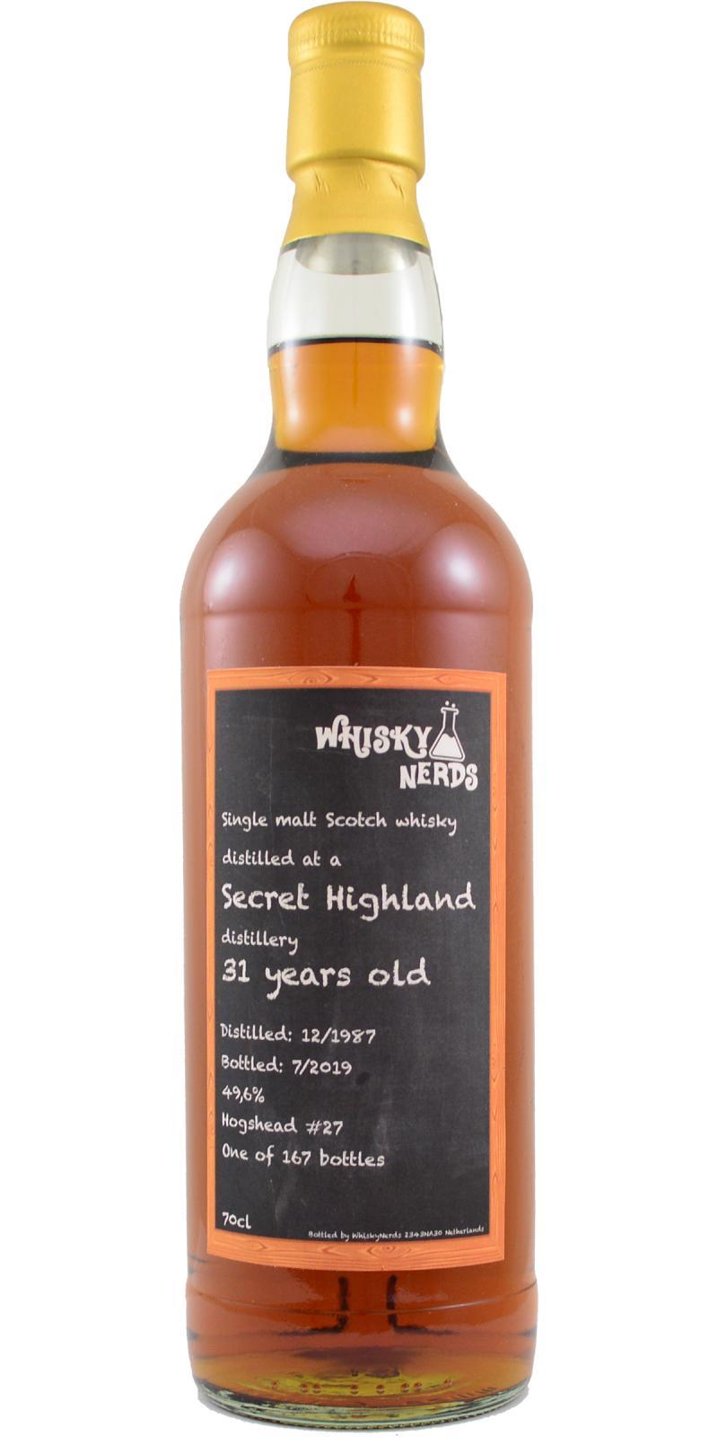 Secret Highland 1987 WN