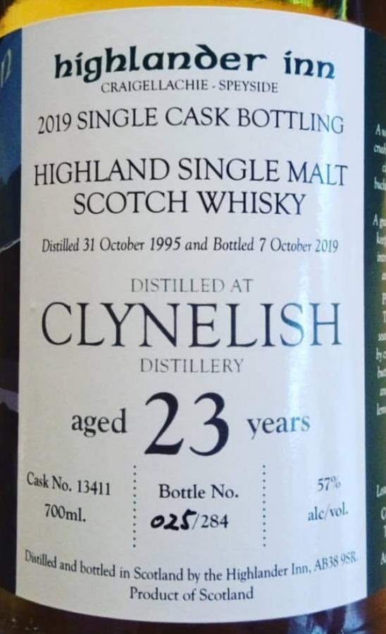 Clynelish 1995 HI