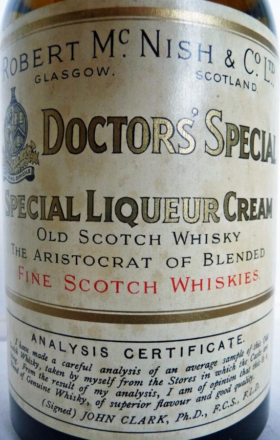 Doctors' Special Special Liqueur Cream