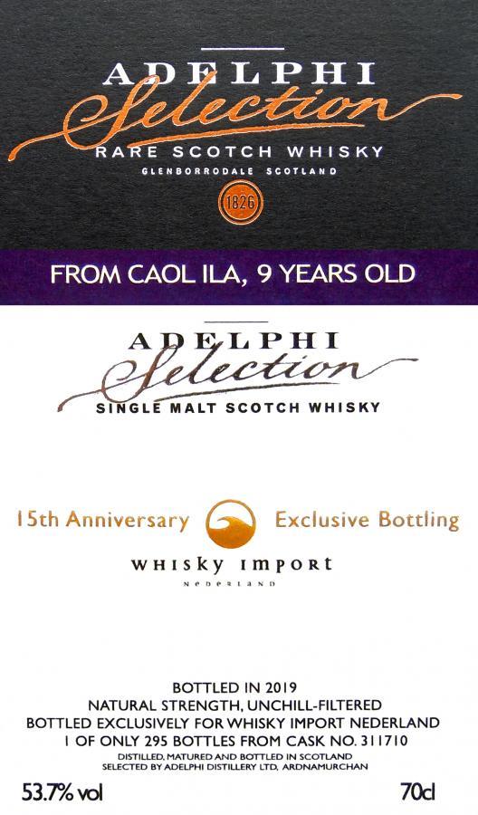 Caol Ila 2010 AD
