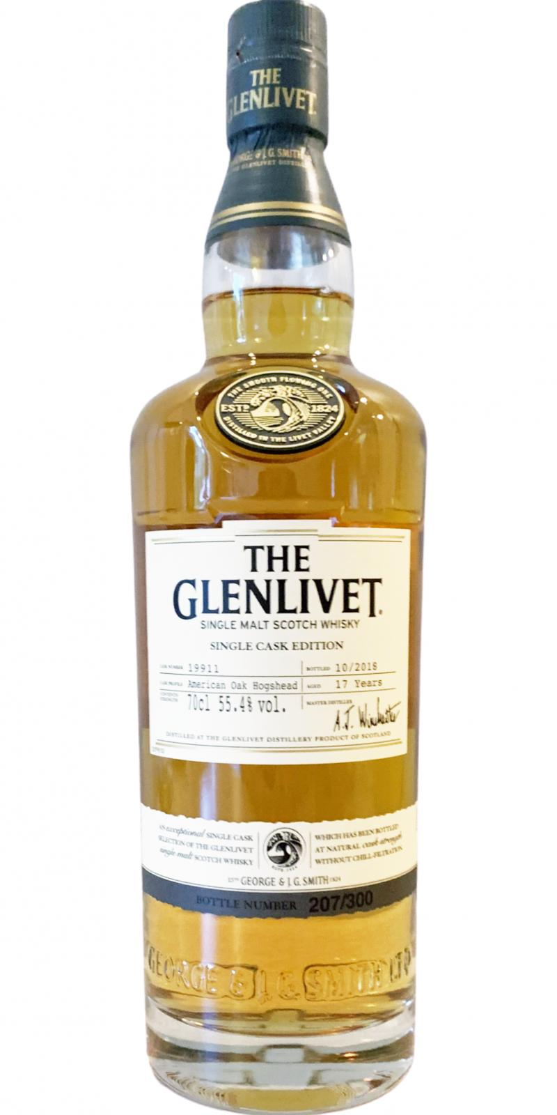 Glenlivet 17-year-old