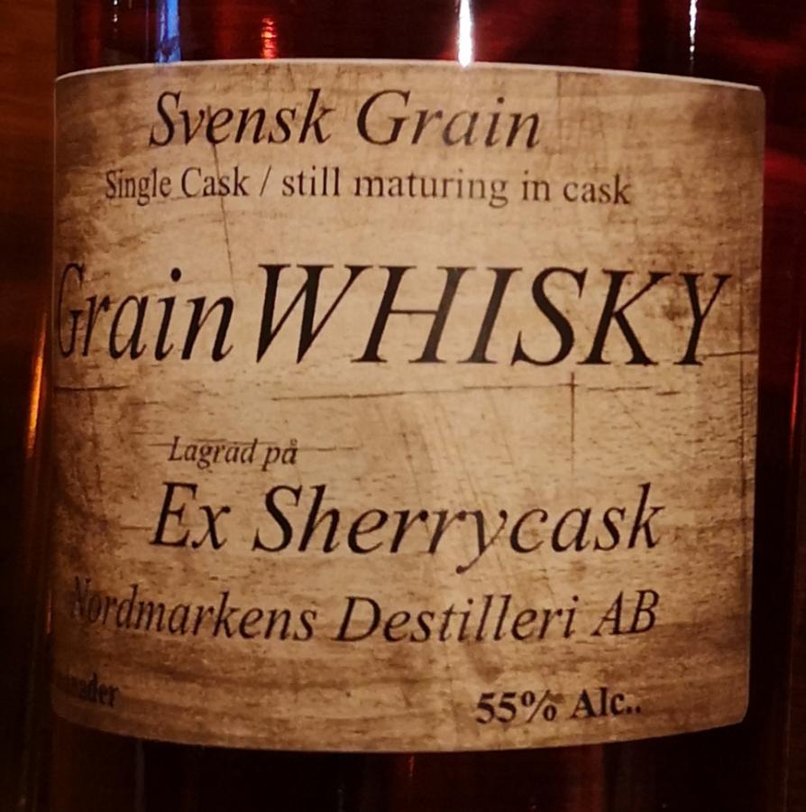 Nordmarkens Grain Sherry