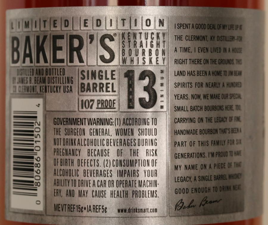 Baker's 13-year-old