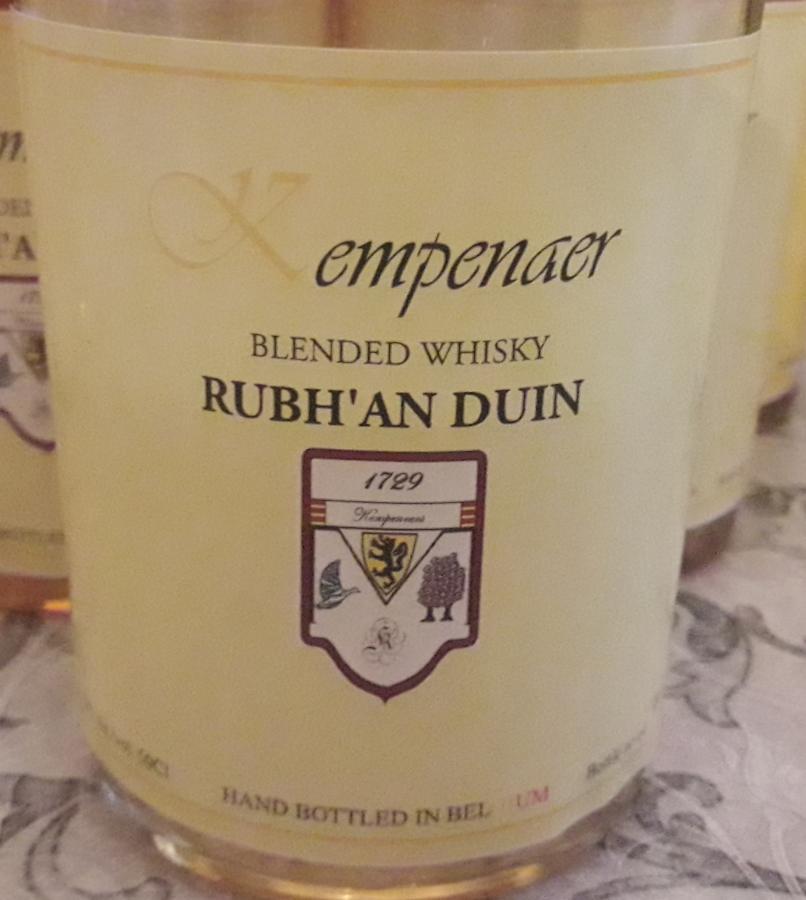 Blended Whisky Rubh'an Duin Kem