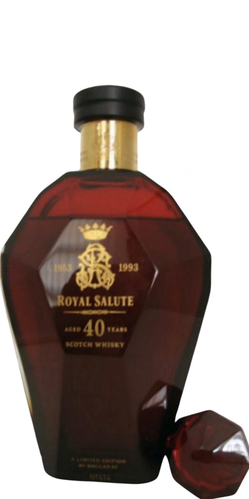 Royal Salute 40-year-old