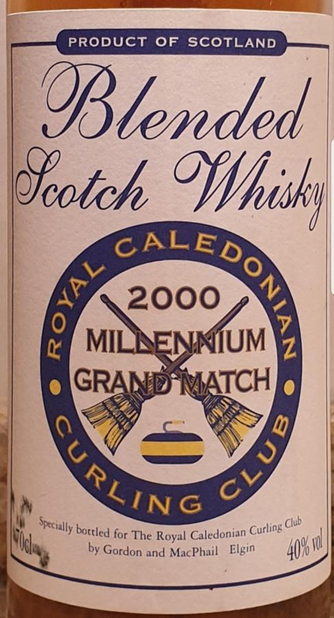 Blended Scotch Whisky The Royal Caledonian Curling Club GM
