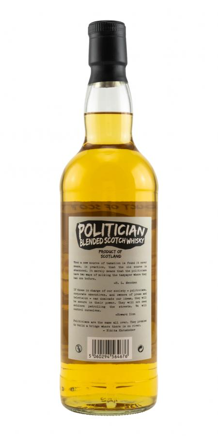 Blended Scotch Whisky Politician DT