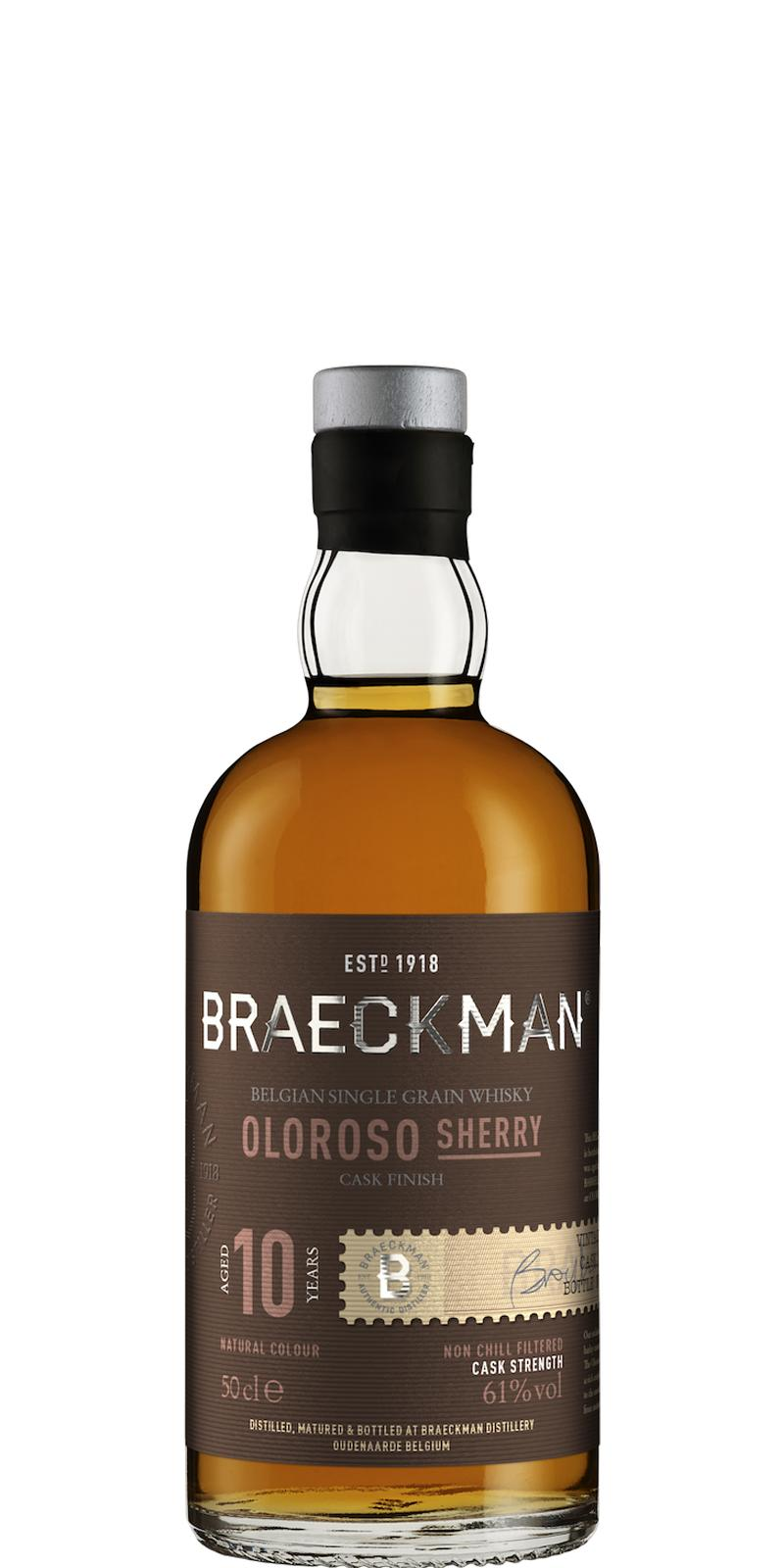 Braeckman Distillers 10-year-old