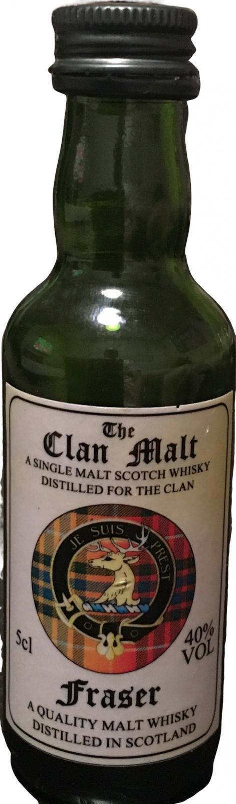 The Clan Malt Fraser ScCr
