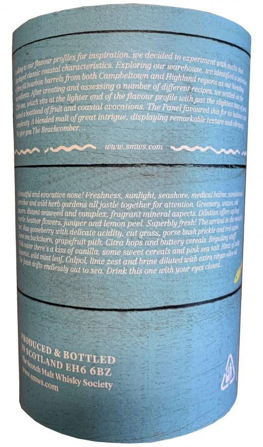 Blended Malt Scotch Whisky 2011 The Beach Comber SMWS
