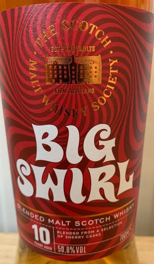 Blended Malt Scotch Whisky 2007 Big Swirl SMWS