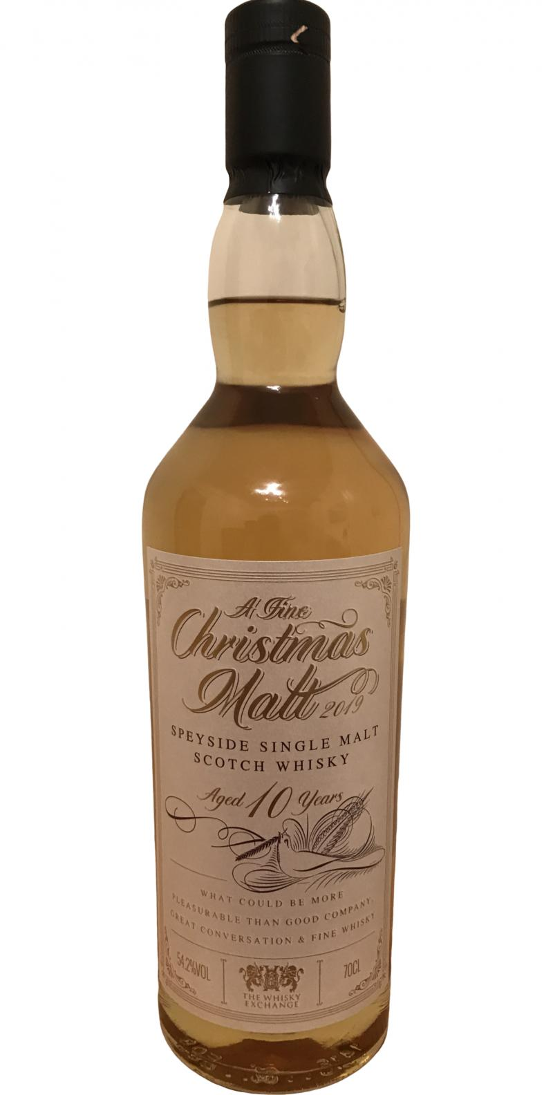 Speyside Single Malt Scotch Whisky 10-year-old ElD