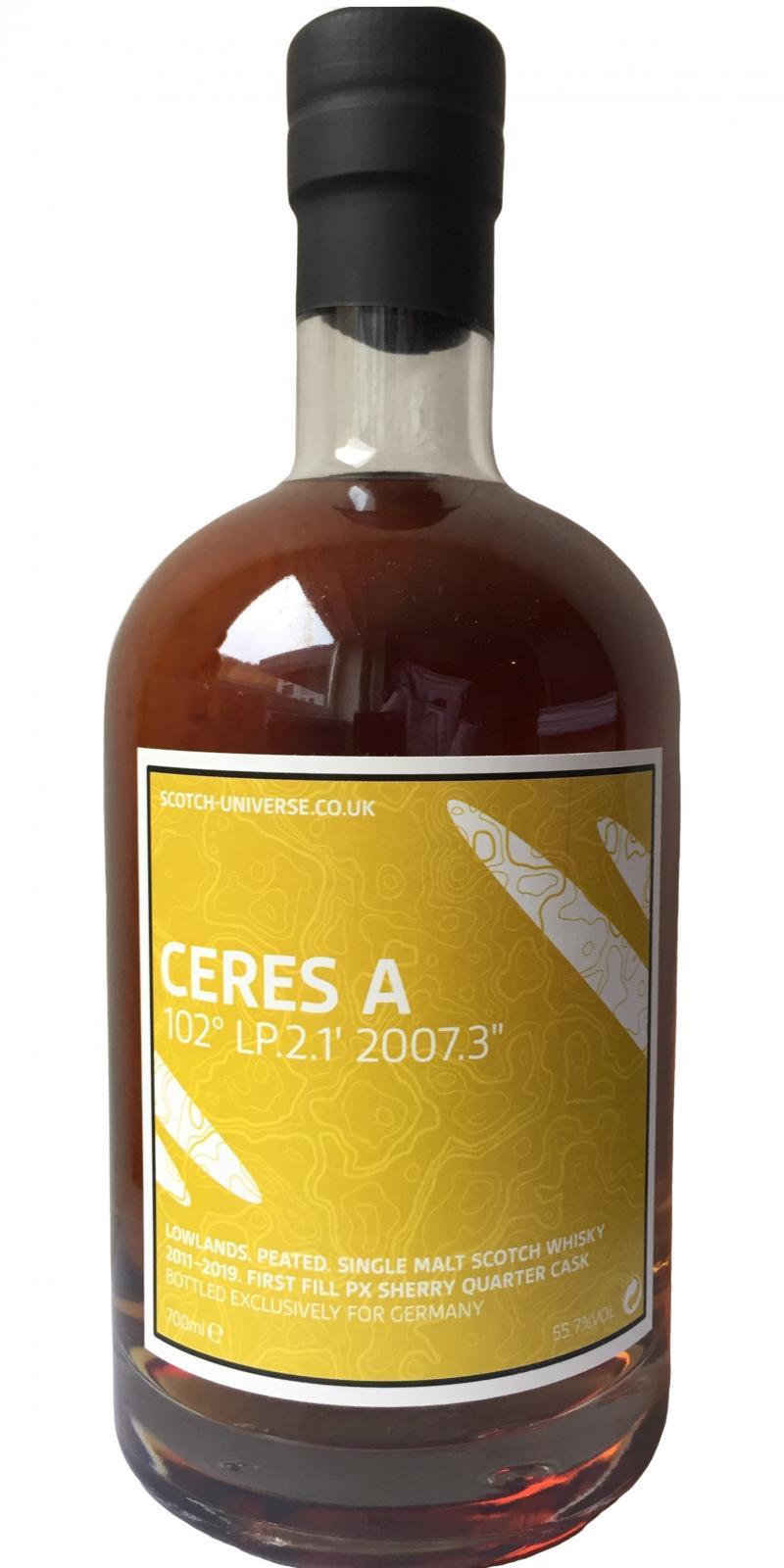 """Scotch Universe Ceres A - 102° LP.2.1'  2007.3"""""""