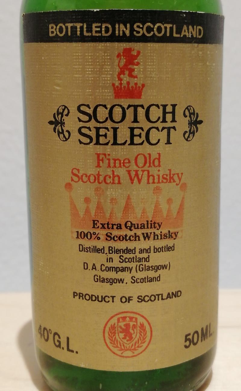 Scotch Select Fine Old Scotch Whisky
