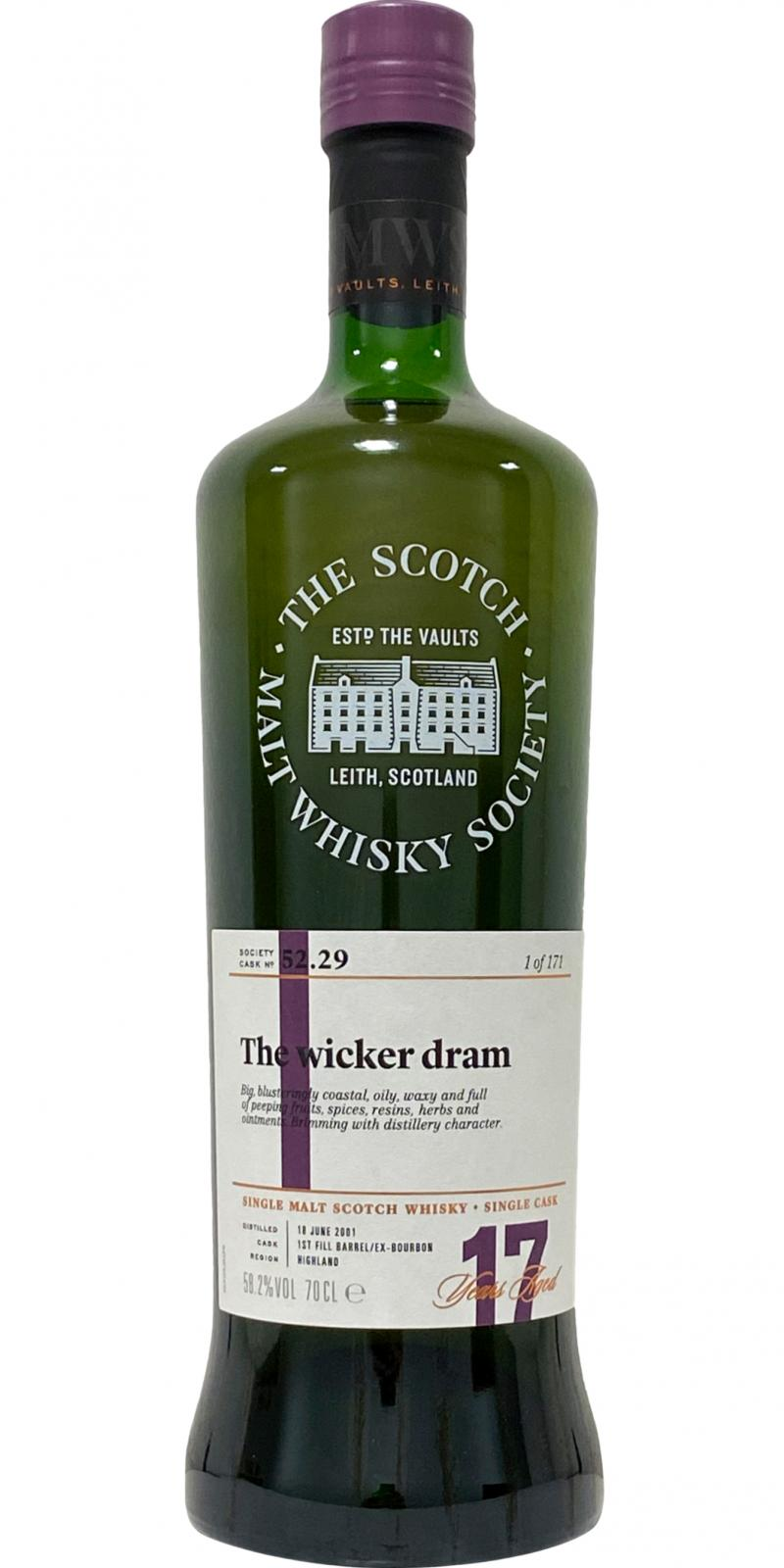 Old Pulteney 2001 SMWS 52.29