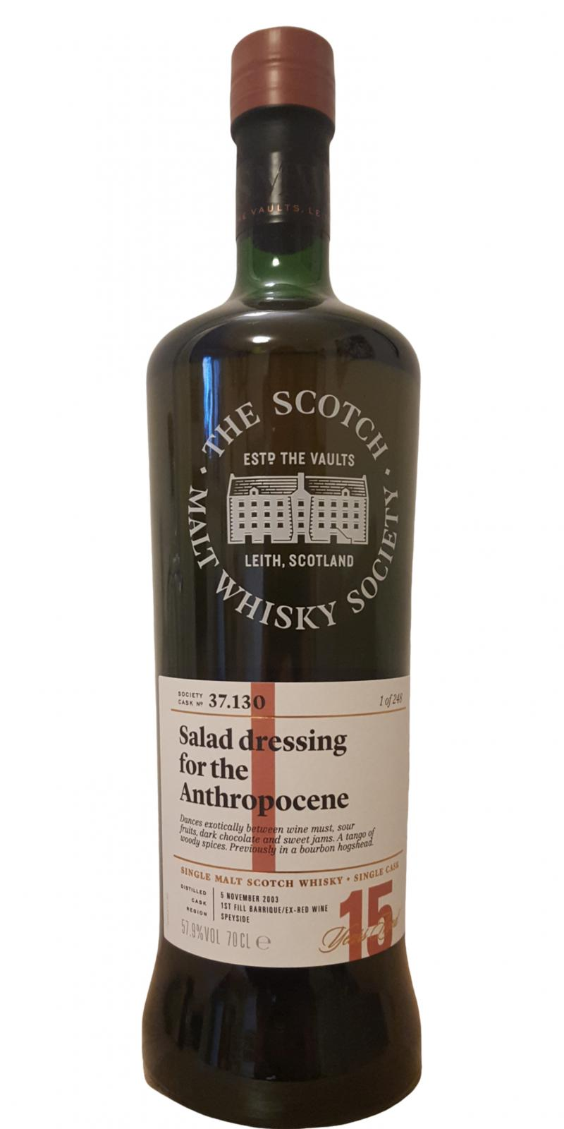 Cragganmore 2003 SMWS 37.130