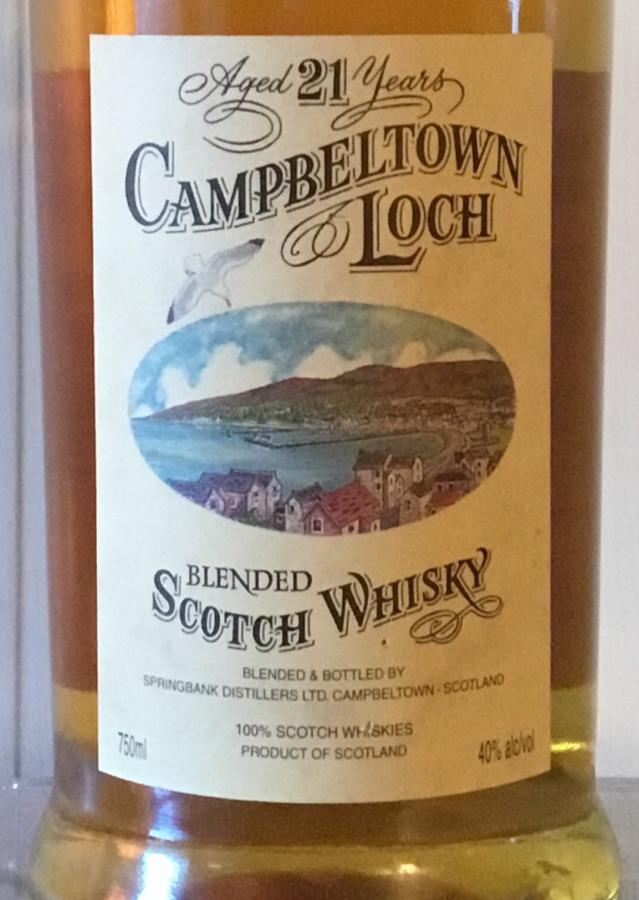 Campbeltown Loch 21-year-old